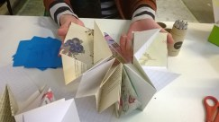 Accordion bookmaking workshop @Govanhill Baths