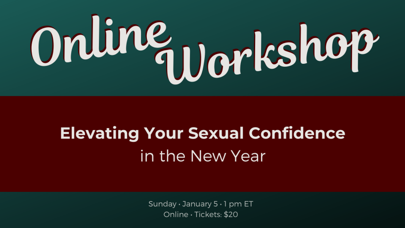 Elevate Your Sexual Confidence in the New Year