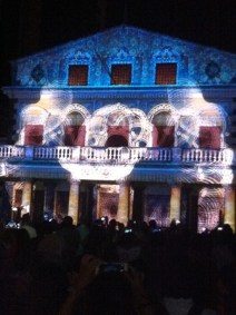 Theatre de Port Louis sound and light show