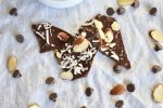 Chocolate Bark with Sea Salt, Coconut, Almonds, and Pecans