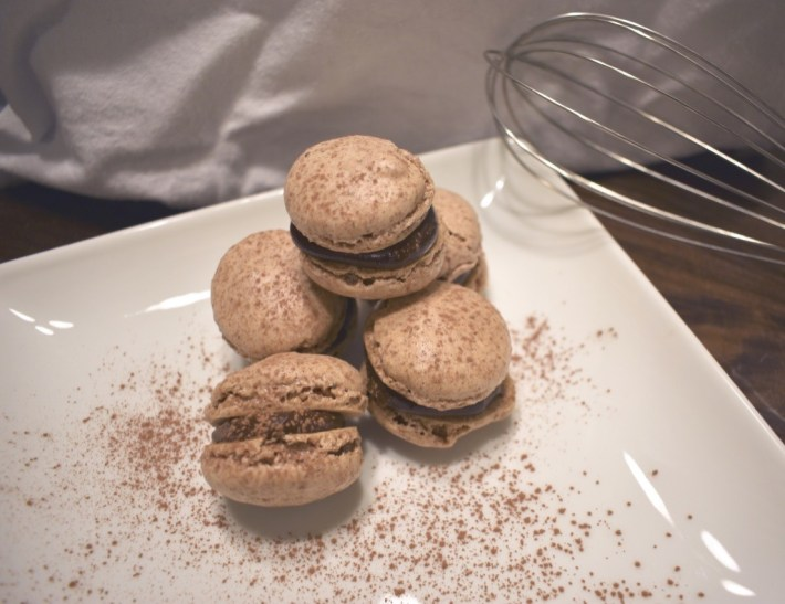 Delicious Chocolate Nut Free Macarons