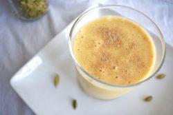 Mango yogurt drink healthier than lassi