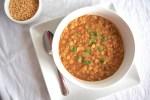 Bowl of Vegan Instant Pot Dal Tadka