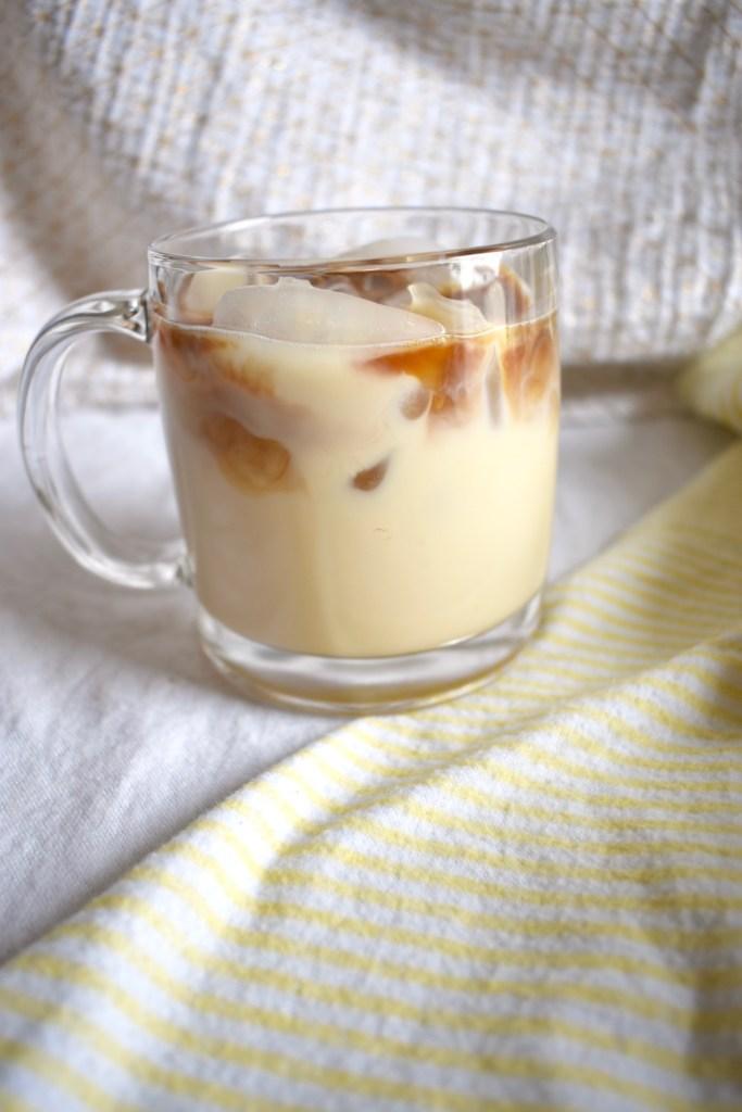 Copycat Starbucks Iced Vanilla Latte