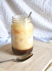 vegan greek frappe easy