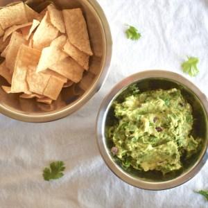 easy vegan guacamole
