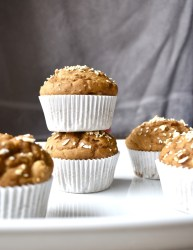 oil free vegan pumpkin muffins