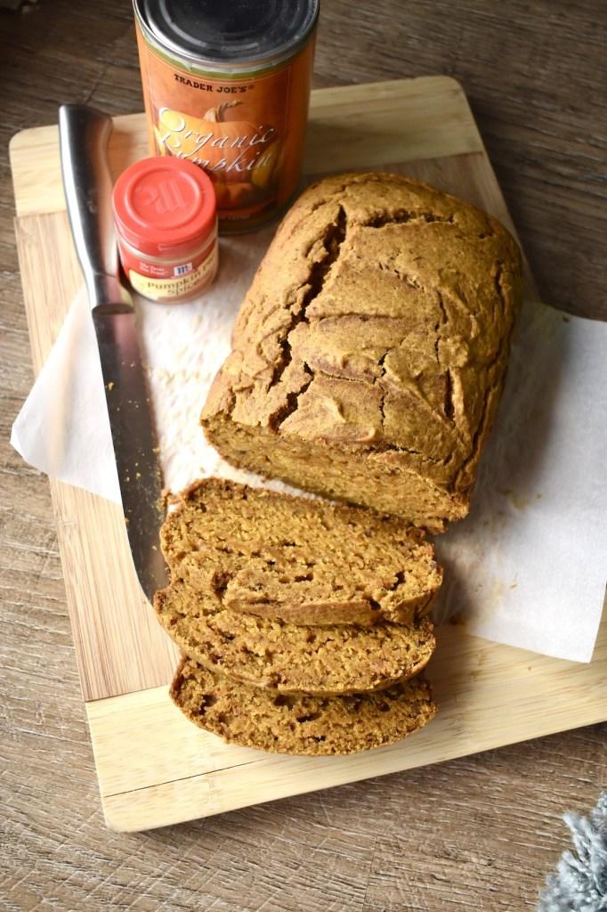 pumpkin bread one bowl one hour