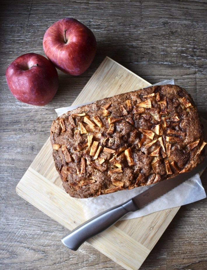 vegan apple bread