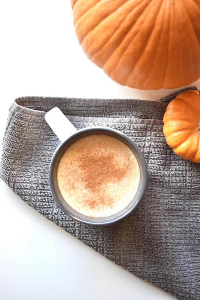 Pumpkin Spice Latte with Tea