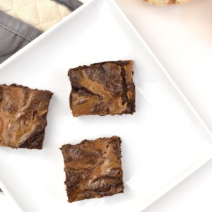 grain free pumpkin brownies vegan and gluten-free