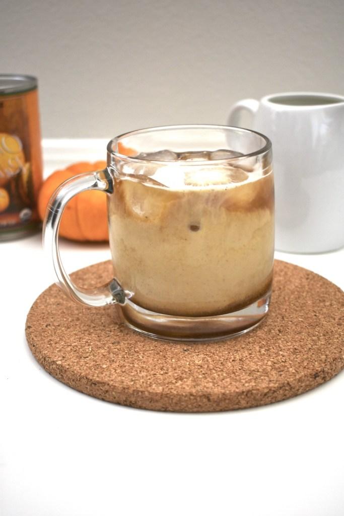 pumpkin cream cold brew healthy copycat starbucks