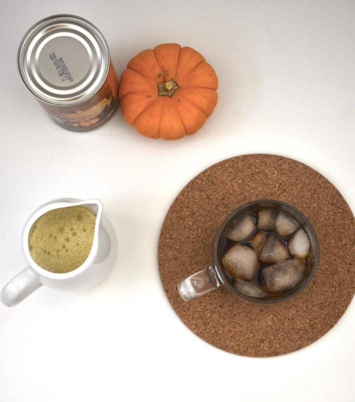 pumpkin cream cold brew healthy starbucks copycat recipe