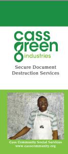 Shredding Brochure image
