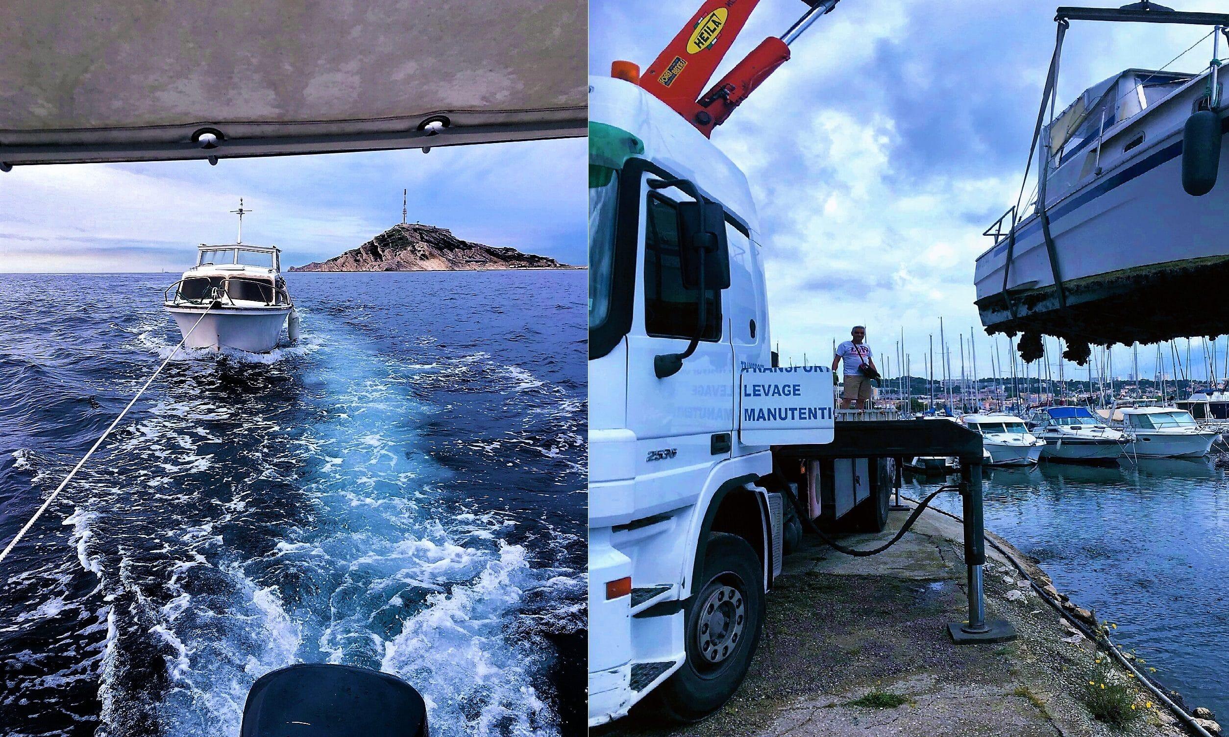 casse marine enlèvement moteurs bateau occasion