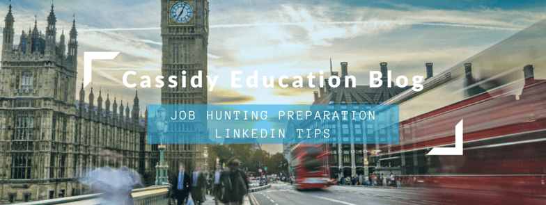 Job hunting preparation: LinkedIn Tips