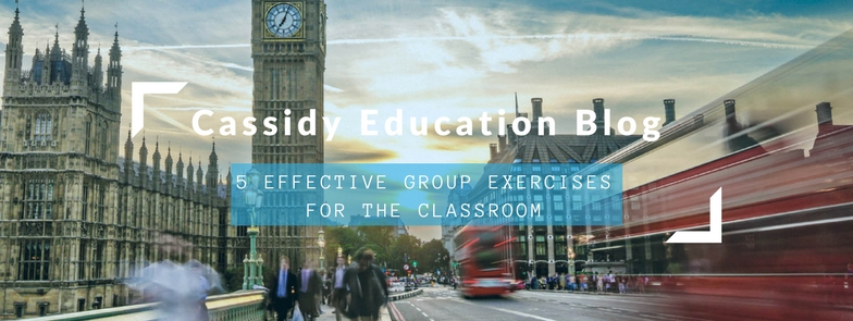 5 Effective Group Exercises For The Classroom