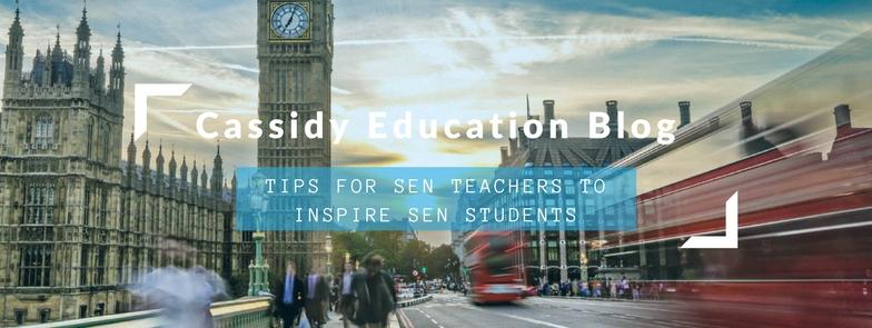 Tips For SEN Teachers To Inspire SEN Students