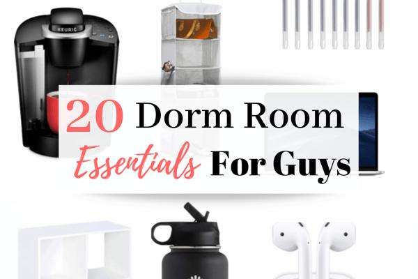 20 College Dorm Room Essentials For Guys