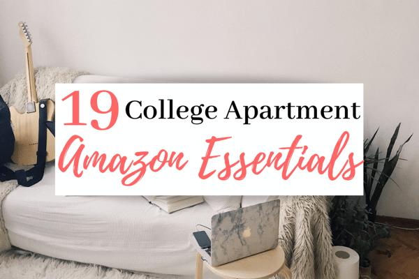 19 College Apartment Essentials On Amazon   Best Amazon College Apartment Items