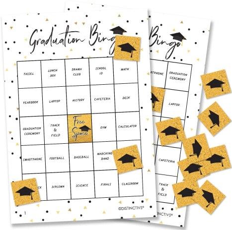 graduation party games activities