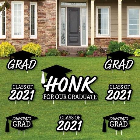 graduation party decoration signs