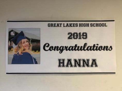 custom banner high school graduation party banner