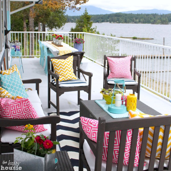 The Happy Housie Home Tour for Primitive and Proper Deck 2