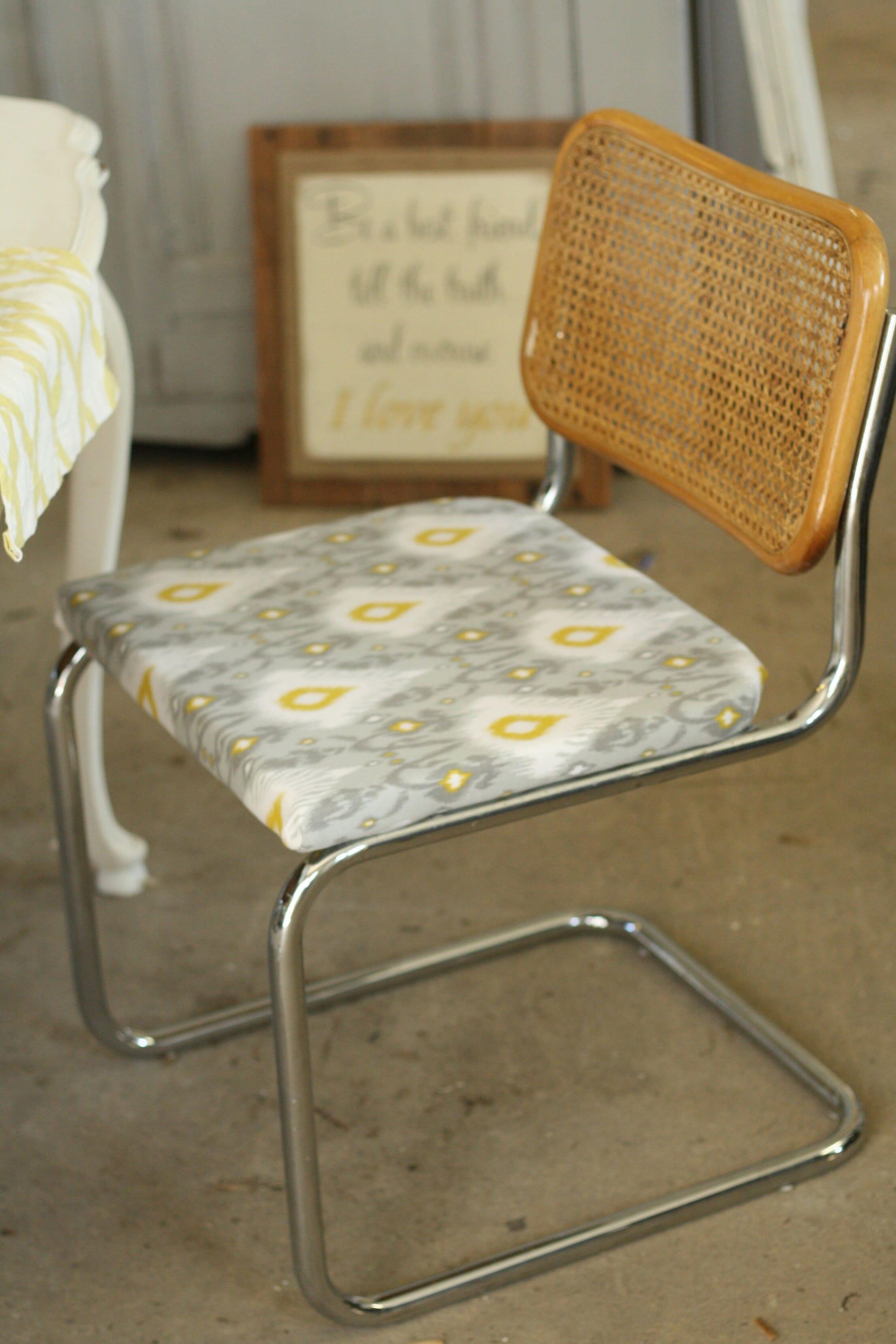 Breuer chairs new seats