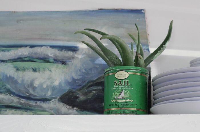 Vintage Sail Tobacco Tin