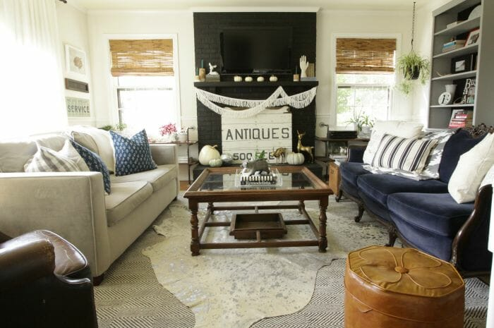 BSHT Fall Eclectic Living Room