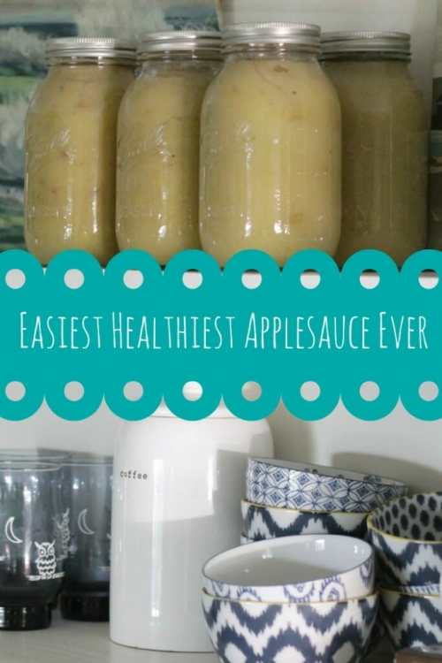 Easiest Healthiest Applesauce Ever