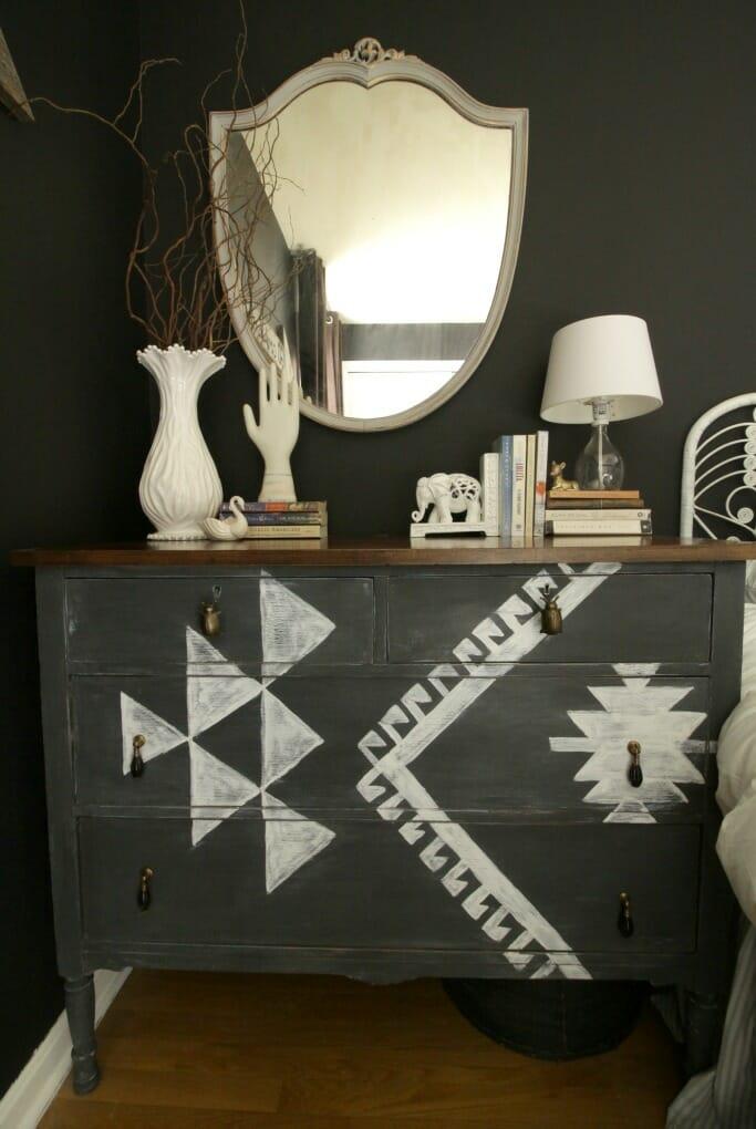 Guest Room Kilim Dresser