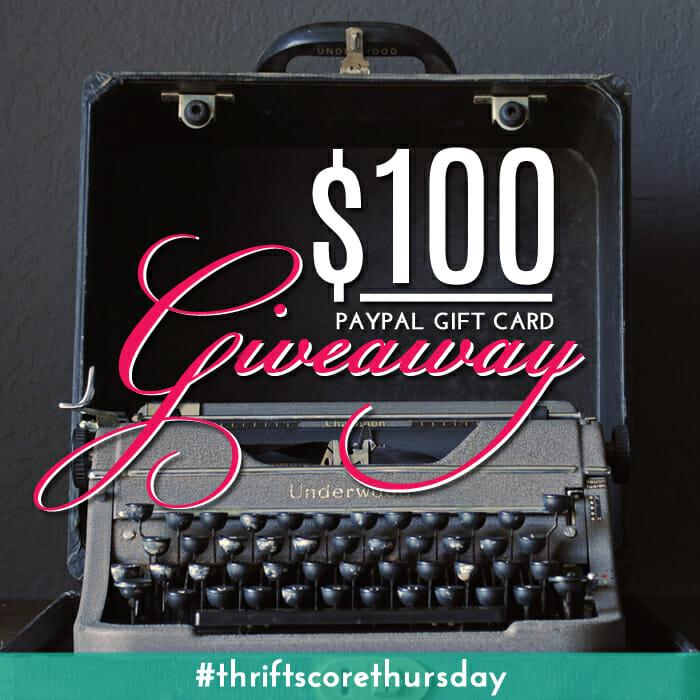 Thrift Score Thursday $100 Giveaway4