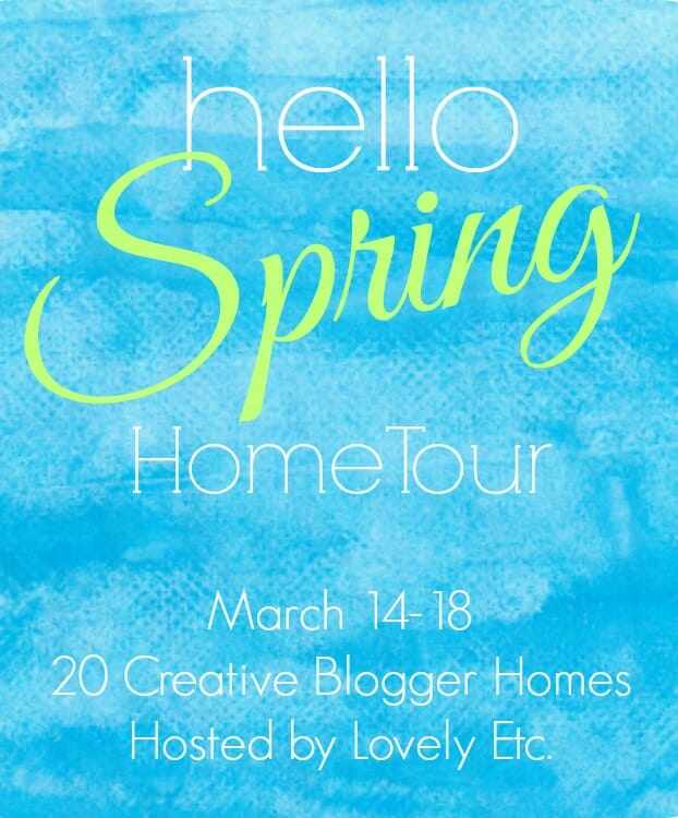 hello spring home tour and a 400 giveaway cassie. Black Bedroom Furniture Sets. Home Design Ideas