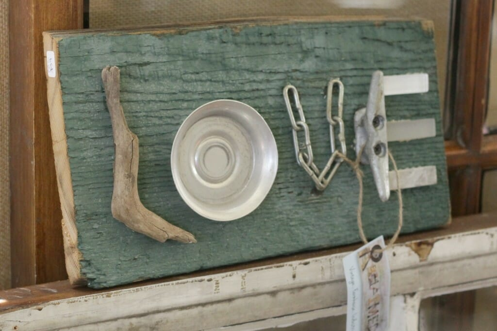 Salvaged Love sign by Reclaimed- at Sweet Clover