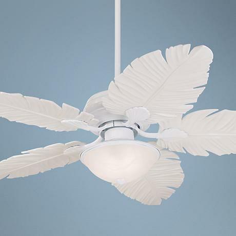 lamps plus white fan