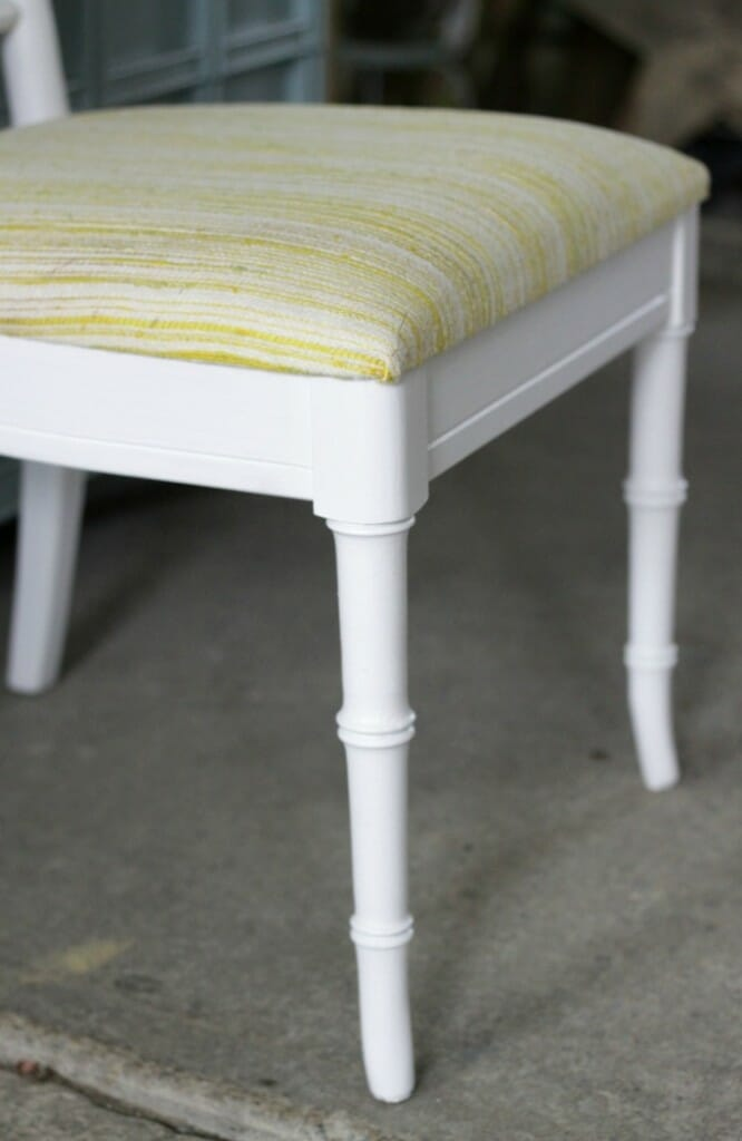 Bamboo Painted Chairs with Amy Howard One Step- NO SANDING or priming!