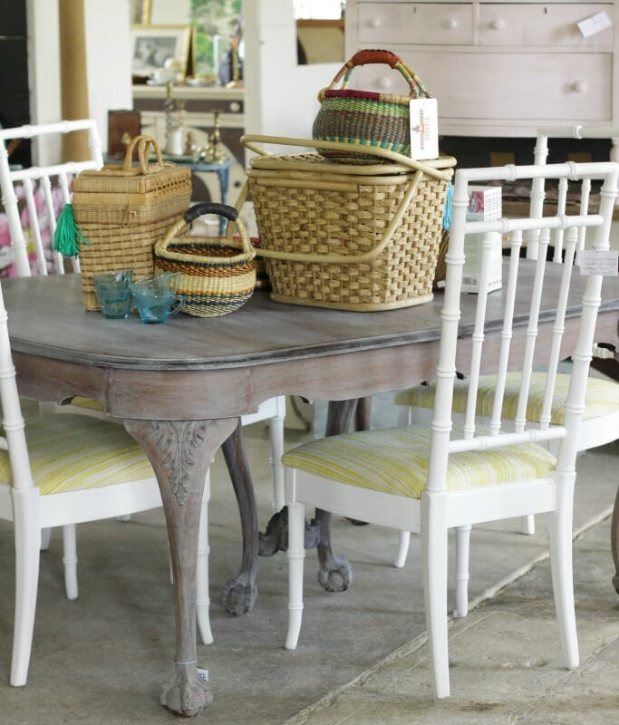 Faux Bamboo Painted Chairs With Amy Howard One Step