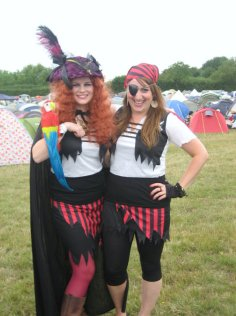 Pirates at the Secret Garden Party 2010