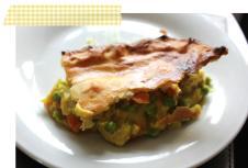 pieday friday turmeric chicken pie cassiefairy