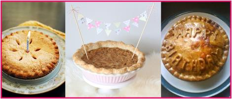 I Like The Look Of These Celebratory Pies And Im Pretty Sure They Would All Contain A Sweet Filling Although Generally Prefer Savoury Pie