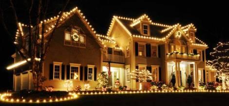 beautiful christmas display house nepa