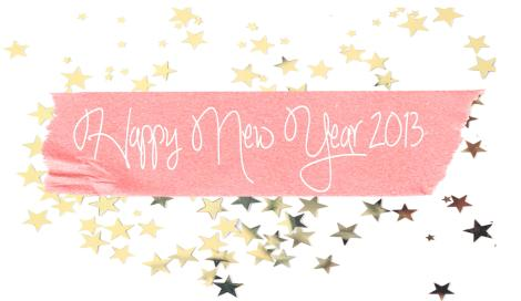 happy new year 2013 cassiefairy blog pic