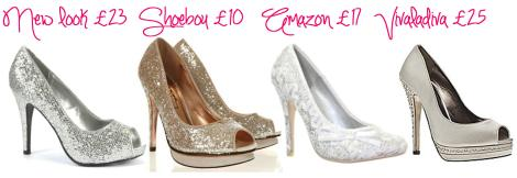 tuesday shoesday cinderella pantomime shoes - glittery heels nicole sherzinger taylor swift miley cyrus fergie cassiefairy