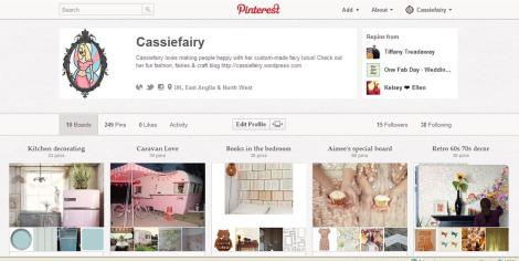 cassiefairy on pinterest boards