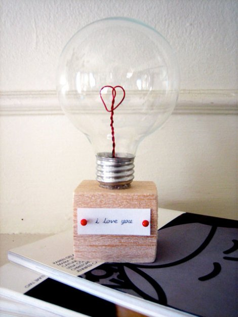 iloveyoubulb dity craft project for valentines day by design sponge