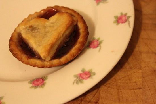 Jam tart heart cake recipe valentines day