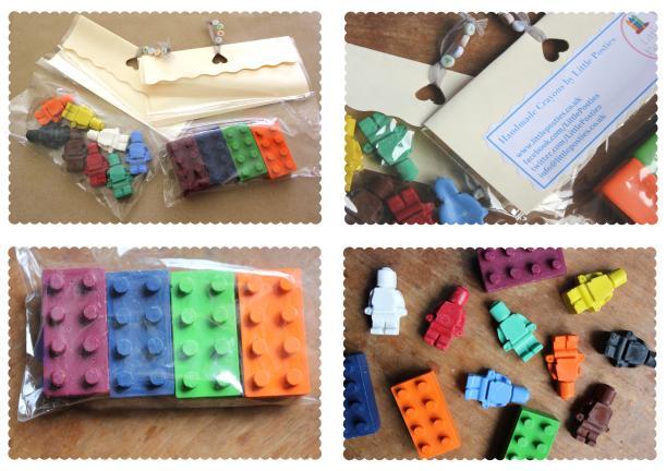 little posties crayon lego men and bricks crayola