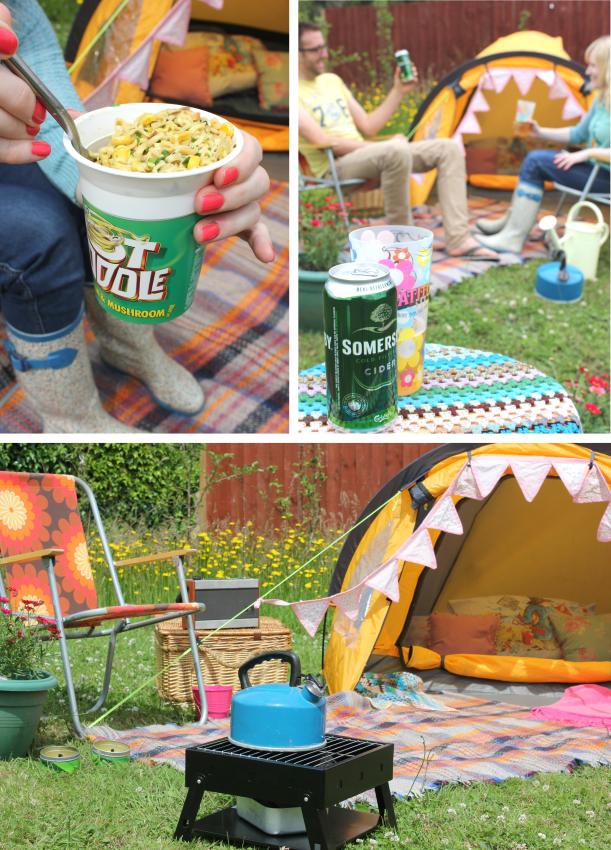 big night in v festival at home glastonbury latitude camping pot noodle cider fashion 2013